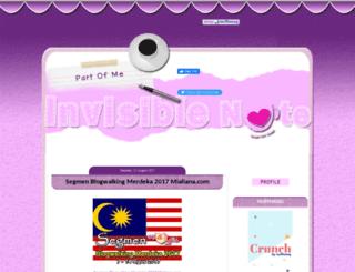 invisiblenote.blogspot.com screenshot