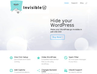 invisiblewp.com screenshot