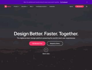 invision.com screenshot