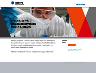 invision.covance.com screenshot
