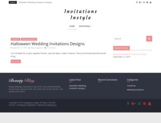 invitations-instyle.com screenshot