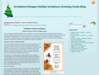 invitations.invitations-shoppe.com screenshot