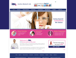 invitbio.com screenshot