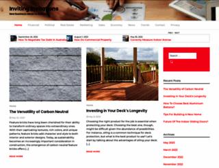 invitinginvitations.com.au screenshot