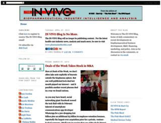 invivoblog.blogspot.com screenshot