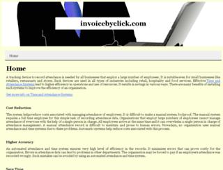 invoicebyclick.com screenshot