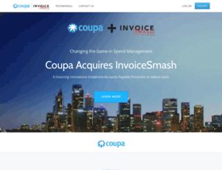 invoicesmash.com screenshot