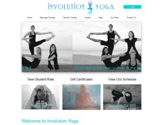 involutionyoga.liveeditaurora.com screenshot
