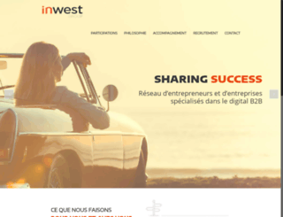 inwest.fr screenshot