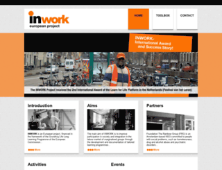 inworkproject.eu screenshot