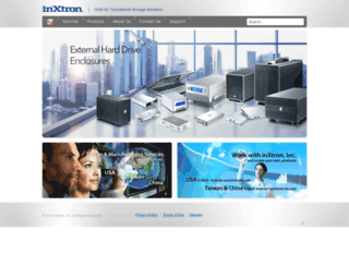 inxtron.com.tw screenshot