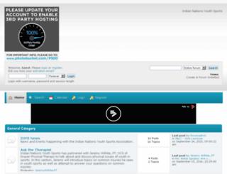 inyouthsports.createaforum.com screenshot
