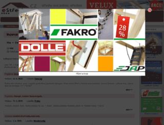inzerce.estrechy.cz screenshot