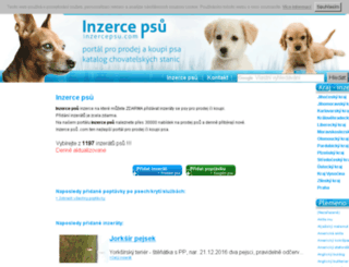 inzercepsu.com screenshot