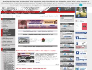 inzynier.rzeszow.pl screenshot