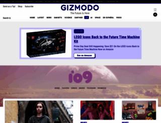 io9.com screenshot