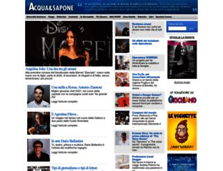 ioacquaesapone.it screenshot