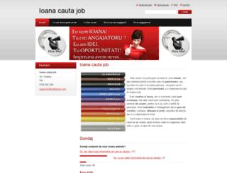 ioanacautajob.webnode.ro screenshot