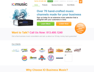 iobusinessmusic.com screenshot