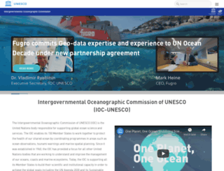 ioc.unesco.org screenshot