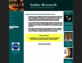 iodineresearch.com screenshot