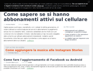 iomobile.pianetatech.it screenshot