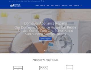 ionaappliances.ie screenshot
