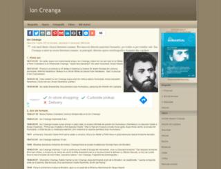 ioncreanga.eu screenshot