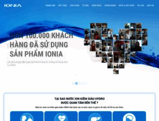 ionia.com.vn screenshot