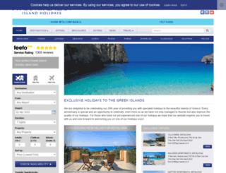 ionianislandholidays.com screenshot