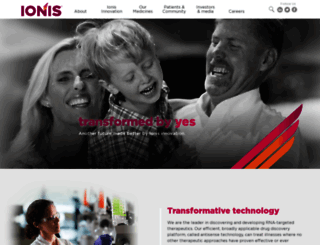 ionispharma.com screenshot