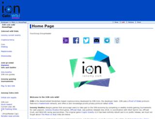 ionomy.wiki screenshot