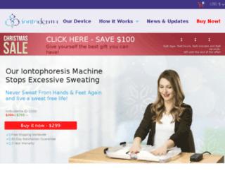 iontoderma.com screenshot