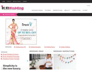 ionwedding.com screenshot