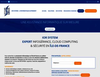 ior-system.com screenshot