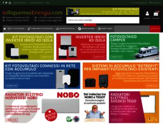iorisparmioenergia.com screenshot