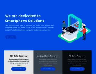 ios-data-recovery.com screenshot
