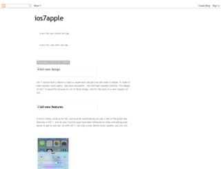 ios7applereport.blogspot.nl screenshot