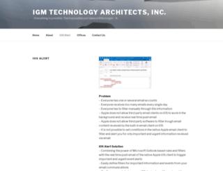 iosalert.com screenshot
