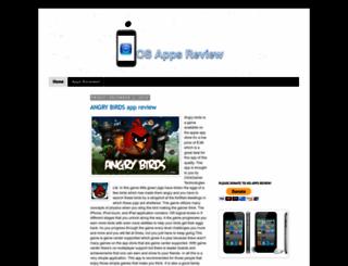 iosappsreview.blogspot.com screenshot