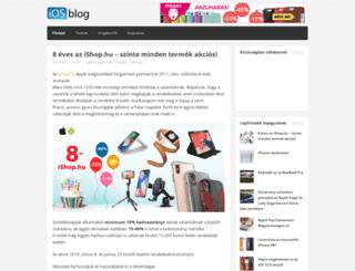 iosblog.hu screenshot