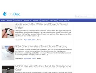 iosdoc.com screenshot