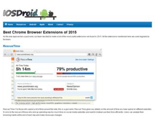 iosdroid.net screenshot