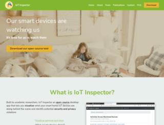 iot-inspector.princeton.edu screenshot
