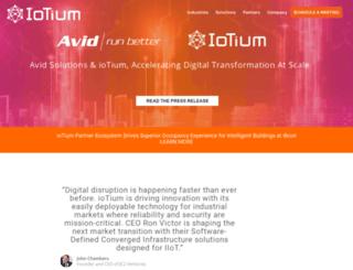 iotium.io screenshot