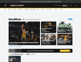 iowa.rivals.com screenshot