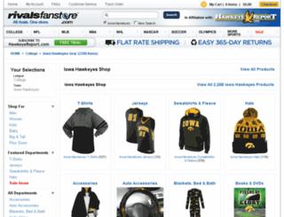 iowa.rivalsfanstore.com screenshot