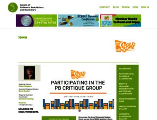 iowa.scbwi.org screenshot