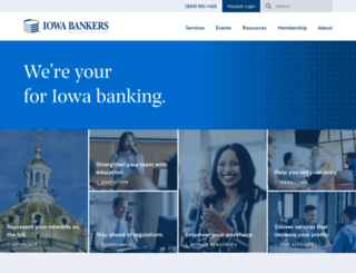 iowabankers.com screenshot