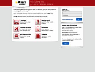 iowalum.affinityperks.com screenshot